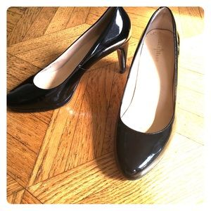 Classic! Black patent leather Cole Haan pumps
